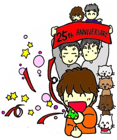 25th カラー原画 ブログ用