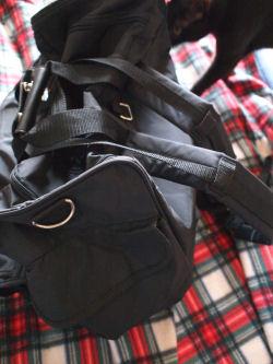 恐怖の黒鞄