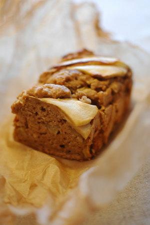 アップルスパイスパウンドケーキ