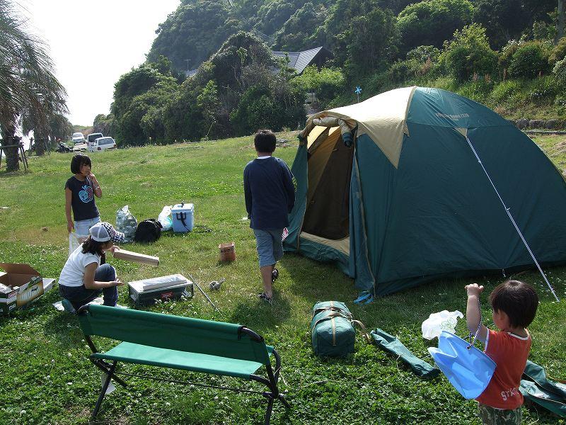 テント準備1