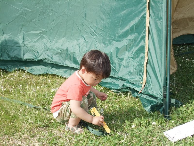 テント準備2