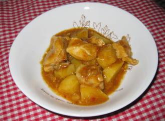 チキンカレー風味3