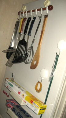 冷蔵庫脇収納