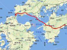 脱藩の道 地図