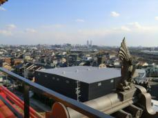 清洲城から名古屋
