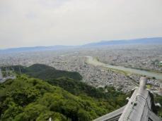 岐阜城景色2