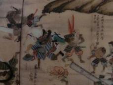 長篠合戦図屏風部分1