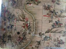 長篠合戦図屏風部分2