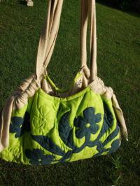 ハワイアンキルトのバッグ3