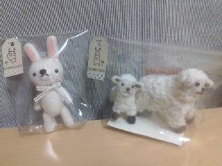 ウサギ ヒツジ