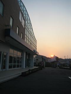 伊良湖の朝