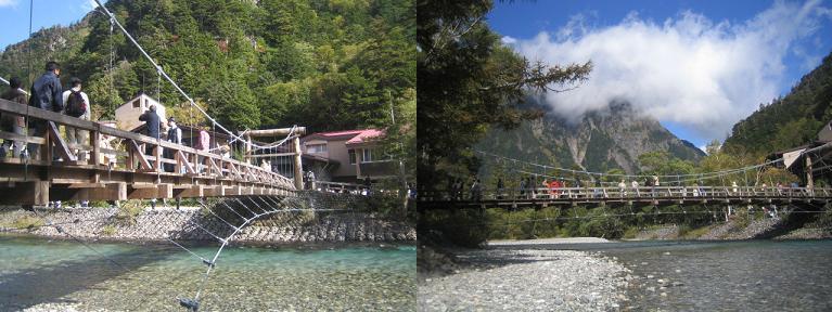 河童橋二景