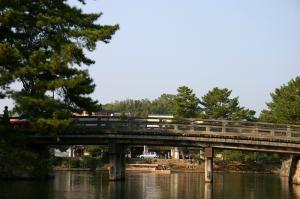 「出雲・松江旅行」2009.10.28.、「松江城、お堀遊覧」1、