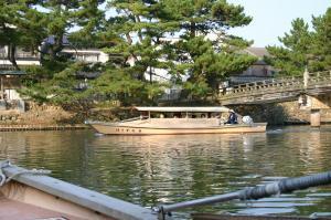 「出雲・松江旅行」2009.10.28.、「松江城、お堀遊覧」4、