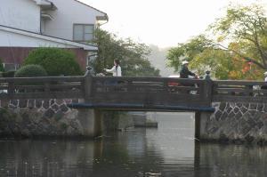 「出雲・松江旅行」2009.10.28.、「松江城、お堀遊覧」26、