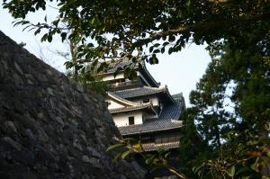 「出雲・松江旅行」2009.10.28.、「松江城」3