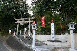 「倉敷帯江、不洗観音寺・帯江観音寺」、2009.10.29.、24「貴船神社」