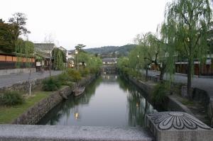 「倉敷美観地区、夕景散策」、2009.10.29.、12