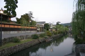「倉敷美観地区、夕景散策」、2009.10.29.、11