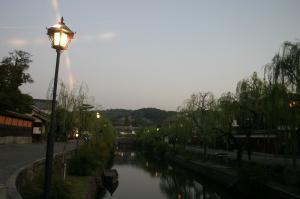「倉敷美観地区、夕景散策」、2009.10.29.、9