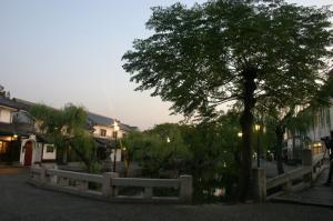 「倉敷美観地区、夕景散策」、2009.10.29.、7