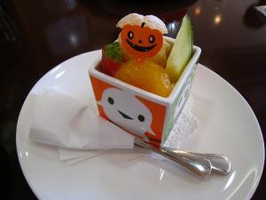 「誕生日ケーキ」、琢代叔母・2009.10.22・79歳、「白バラ神辺店のケーキ」、2
