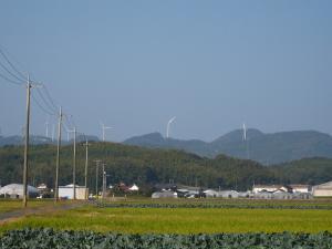 「出雲・松江旅行」2009.10.28.、「風力発電」、1、