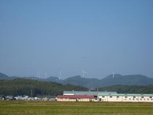 「出雲・松江旅行」2009.10.28.、「風力発電」、3