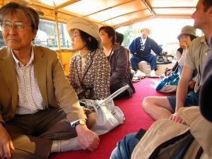 「出雲・松江旅行」2009.10.28.、「松江城、お堀遊覧」29、