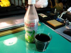 「コカコーラ、カテキンプラス」、