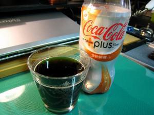 コカコーラ「プラス・ファイバー、食物繊維入り」、