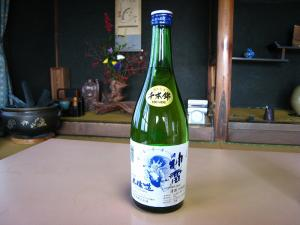 三輪酒造・神雷、「純米酒」&「本醸造酒」、3