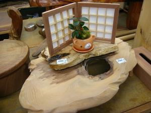 豊田さん「木工品」、