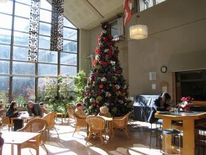 2009.倉敷中央病院の「クリスマスツリー」、