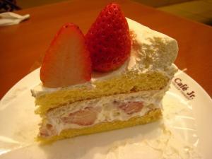 イタリアン・トマト、カフェ・ジュニア、「苺のショートケーキ」、フジグラン神辺店