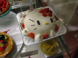 ドルセ、「キティーちゃんデコレーションケーキ」、福山市三吉町、