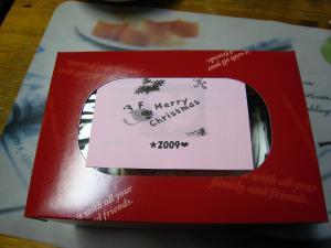 中国バス、「2009.クリスマスケーキ」、1