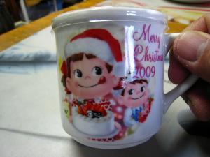 不二家「ペコちゃんプリン、2009.クリスマス」、1