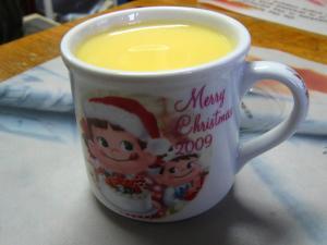 不二家「ペコちゃんプリン、2009.クリスマス」、3