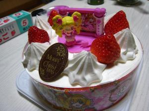 2009.「ファミリーマートのクリスマスケーキ」、4、「プリキュア」、