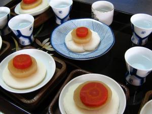 2010.1.1.、お雑煮・神仏用、2