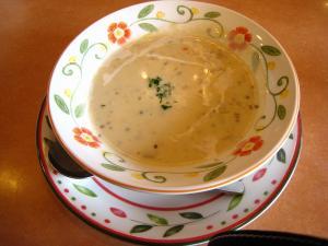 サイゼリア、「シーフード・スープ」、