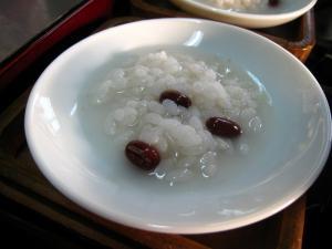 2010.1.15.「小豆粥」、小正月のご祝儀、神様・仏様用、3