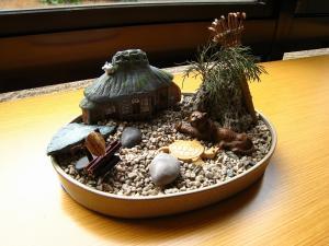 「盆景」・1、倉敷中央病院リバーサイド分院、2010.1.
