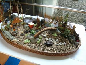 「盆景」・2、倉敷中央病院リバーサイド分院、2010.1.
