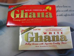 ロッテ「ガーナチョコレート」、「ホワイトガーナ」、