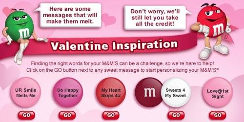 カスタム M&M バレンタイン