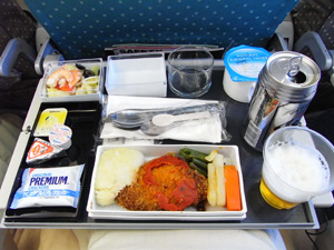 シンガポール航空・機内食