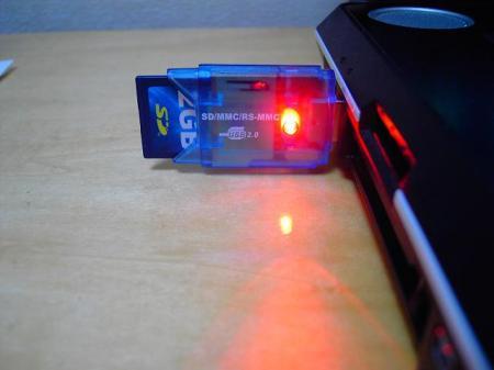 USB SDカードリーダー5