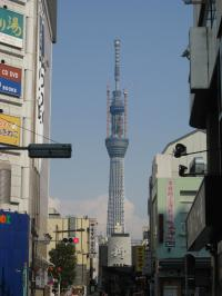 skytree at Asakusa